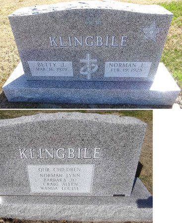 KLINGBILE, NORMAN - Pennington County, South Dakota | NORMAN KLINGBILE - South Dakota Gravestone Photos