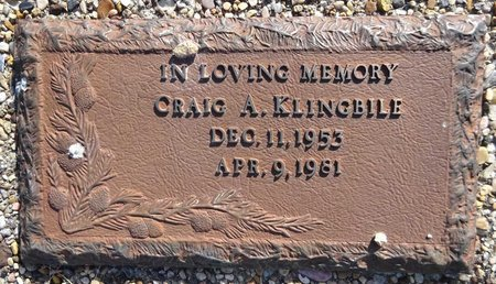KLINGBILE, CRAIG - Pennington County, South Dakota   CRAIG KLINGBILE - South Dakota Gravestone Photos