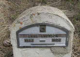 KNUTSON, ANNA - Pennington County, South Dakota | ANNA KNUTSON - South Dakota Gravestone Photos