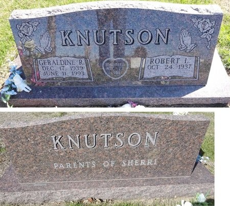 KNUTSON, GERALDINE - Pennington County, South Dakota | GERALDINE KNUTSON - South Dakota Gravestone Photos