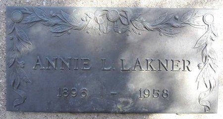 LAKNER, ANNIE - Pennington County, South Dakota | ANNIE LAKNER - South Dakota Gravestone Photos