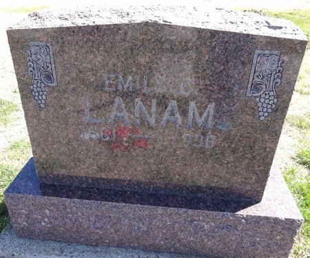LANAM, EMILY - Pennington County, South Dakota | EMILY LANAM - South Dakota Gravestone Photos