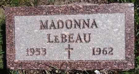 LEBEAU, MADONNA - Pennington County, South Dakota | MADONNA LEBEAU - South Dakota Gravestone Photos