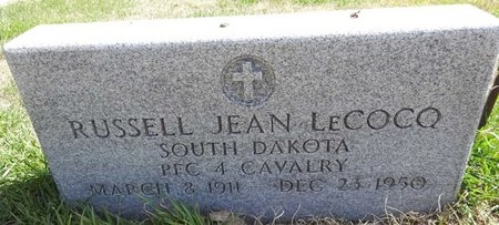 LECOCO, RUSSELL JEAN - Pennington County, South Dakota | RUSSELL JEAN LECOCO - South Dakota Gravestone Photos