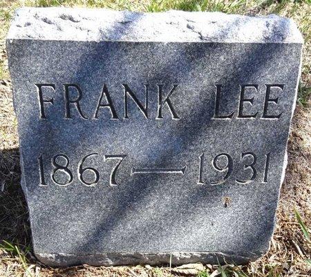 LEE, FRANK - Pennington County, South Dakota | FRANK LEE - South Dakota Gravestone Photos