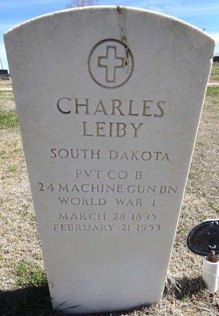 LEIBY, CHARLES - Pennington County, South Dakota | CHARLES LEIBY - South Dakota Gravestone Photos