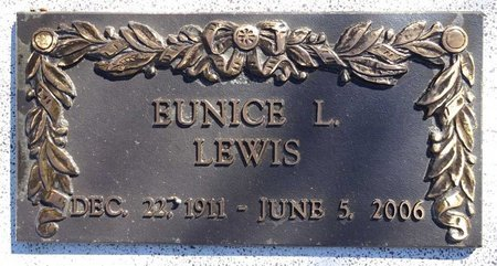 WOOD LEWIS, EUNICE - Pennington County, South Dakota | EUNICE WOOD LEWIS - South Dakota Gravestone Photos