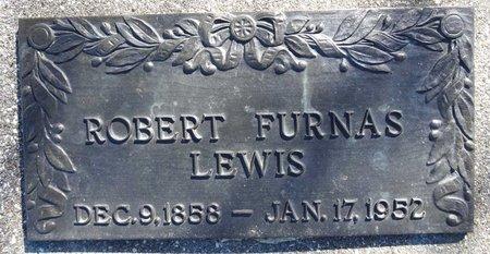LEWIS, ROBERT FURNAS - Pennington County, South Dakota | ROBERT FURNAS LEWIS - South Dakota Gravestone Photos