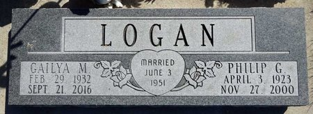 LOGAN, PHILIP - Pennington County, South Dakota | PHILIP LOGAN - South Dakota Gravestone Photos