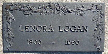 LOGAN, LENORA - Pennington County, South Dakota   LENORA LOGAN - South Dakota Gravestone Photos