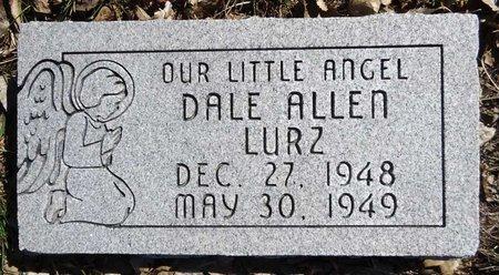 LURZ, DALE ALLEN - Pennington County, South Dakota   DALE ALLEN LURZ - South Dakota Gravestone Photos