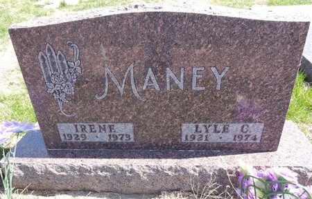 MANEY, IRENE - Pennington County, South Dakota | IRENE MANEY - South Dakota Gravestone Photos