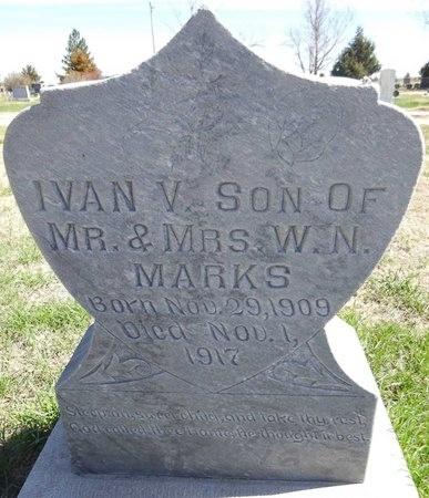 MARKS, IVAN - Pennington County, South Dakota | IVAN MARKS - South Dakota Gravestone Photos