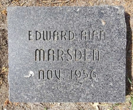MARSDEN, EDWARD ALAN - Pennington County, South Dakota | EDWARD ALAN MARSDEN - South Dakota Gravestone Photos