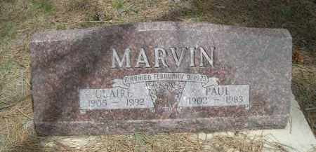 MARVIN, PAUL - Pennington County, South Dakota | PAUL MARVIN - South Dakota Gravestone Photos