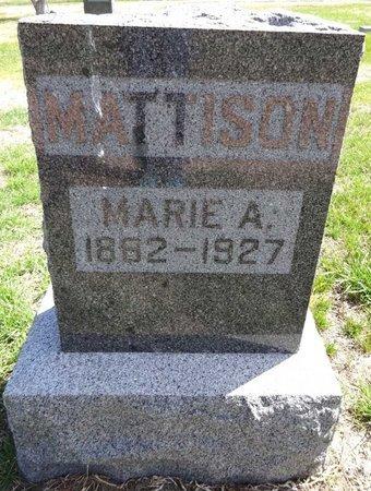 MATTISON, MARIE - Pennington County, South Dakota | MARIE MATTISON - South Dakota Gravestone Photos
