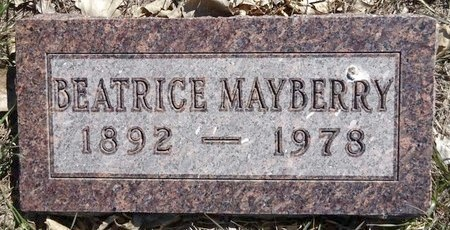 MAYBERRY, BEATRICE - Pennington County, South Dakota | BEATRICE MAYBERRY - South Dakota Gravestone Photos