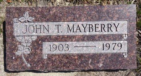 MAYBERRY, JOHN - Pennington County, South Dakota | JOHN MAYBERRY - South Dakota Gravestone Photos