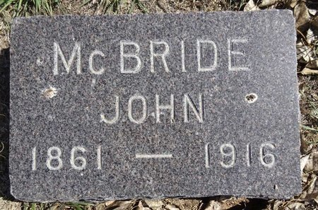 MCBRIDE, JOHN - Pennington County, South Dakota   JOHN MCBRIDE - South Dakota Gravestone Photos