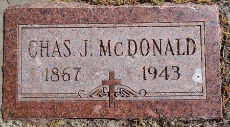 MCDONALD, CHAS - Pennington County, South Dakota | CHAS MCDONALD - South Dakota Gravestone Photos