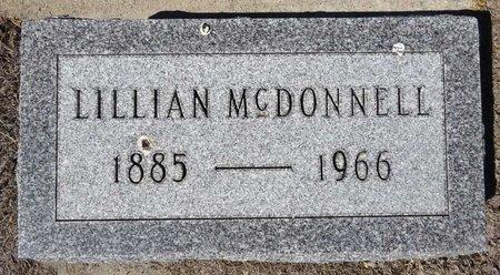 MCDONNELL, LILLIAN - Pennington County, South Dakota | LILLIAN MCDONNELL - South Dakota Gravestone Photos