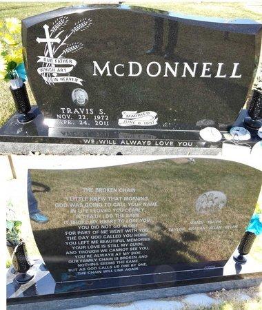 MCDONNELL, TRAVIS - Pennington County, South Dakota | TRAVIS MCDONNELL - South Dakota Gravestone Photos