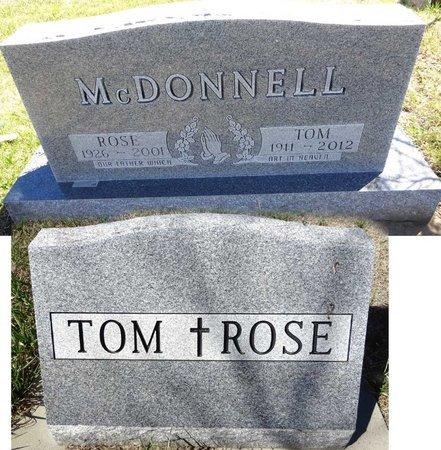 MCDONNELL, ROSE - Pennington County, South Dakota | ROSE MCDONNELL - South Dakota Gravestone Photos