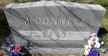MCDONNELL, BEULAH - Pennington County, South Dakota | BEULAH MCDONNELL - South Dakota Gravestone Photos