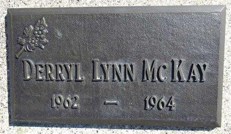 MCKAY, DERRYL LYNN - Pennington County, South Dakota   DERRYL LYNN MCKAY - South Dakota Gravestone Photos