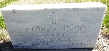 MELVIN, JEROME - Pennington County, South Dakota | JEROME MELVIN - South Dakota Gravestone Photos