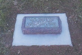 MENDENHALL, VICTOR - Pennington County, South Dakota | VICTOR MENDENHALL - South Dakota Gravestone Photos