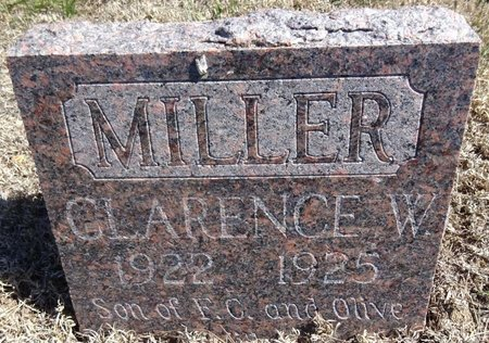MILLER, CLARENCE - Pennington County, South Dakota | CLARENCE MILLER - South Dakota Gravestone Photos