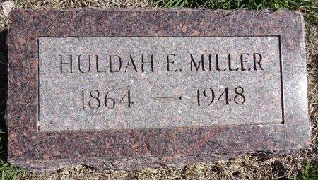 MILLER, HULDAH - Pennington County, South Dakota | HULDAH MILLER - South Dakota Gravestone Photos