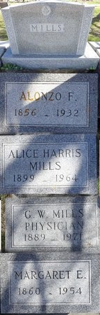 MILLS, ALONZO - Pennington County, South Dakota | ALONZO MILLS - South Dakota Gravestone Photos