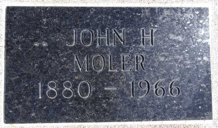 MOLER, JOHN - Pennington County, South Dakota | JOHN MOLER - South Dakota Gravestone Photos