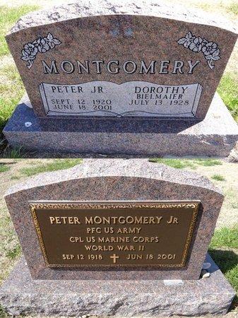 BIELMAIER MONTGOMERY, DOROTHY - Pennington County, South Dakota | DOROTHY BIELMAIER MONTGOMERY - South Dakota Gravestone Photos