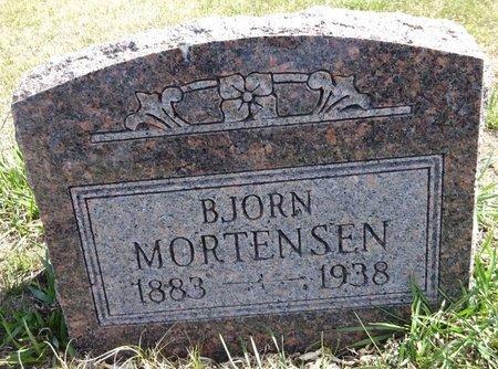 MORTENSEN, BJORN - Pennington County, South Dakota   BJORN MORTENSEN - South Dakota Gravestone Photos
