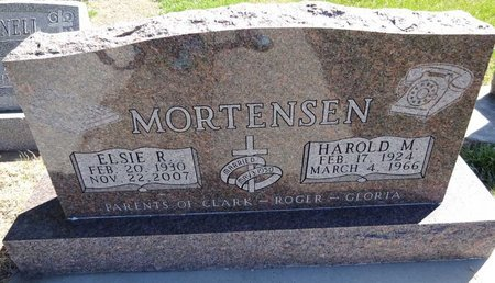 MORTENSEN, ELSIE - Pennington County, South Dakota | ELSIE MORTENSEN - South Dakota Gravestone Photos