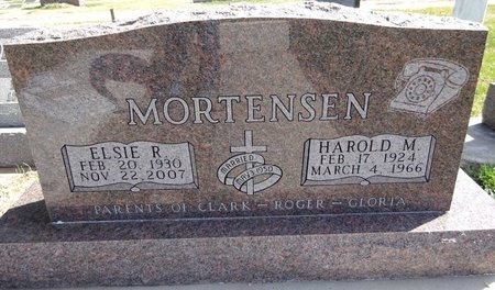 MORTENSEN, HAROLD - Pennington County, South Dakota | HAROLD MORTENSEN - South Dakota Gravestone Photos