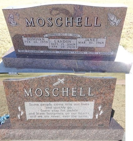 MOSCHELL, DONOVAN - Pennington County, South Dakota | DONOVAN MOSCHELL - South Dakota Gravestone Photos