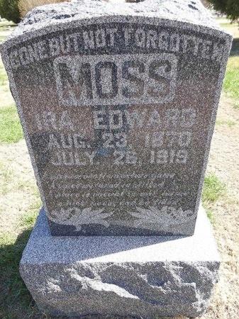 MOSS, IRA EDWARD - Pennington County, South Dakota | IRA EDWARD MOSS - South Dakota Gravestone Photos