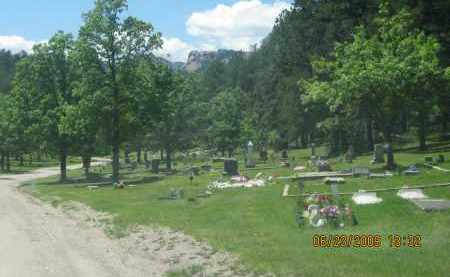 *MOUNTAIN VIEW CEMETERY, VIEW OF CEMETERY - Pennington County, South Dakota   VIEW OF CEMETERY *MOUNTAIN VIEW CEMETERY - South Dakota Gravestone Photos
