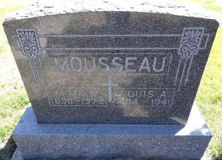 MOUSSEAU, ALMA - Pennington County, South Dakota | ALMA MOUSSEAU - South Dakota Gravestone Photos