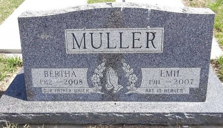 MULLER, EMIL - Pennington County, South Dakota | EMIL MULLER - South Dakota Gravestone Photos