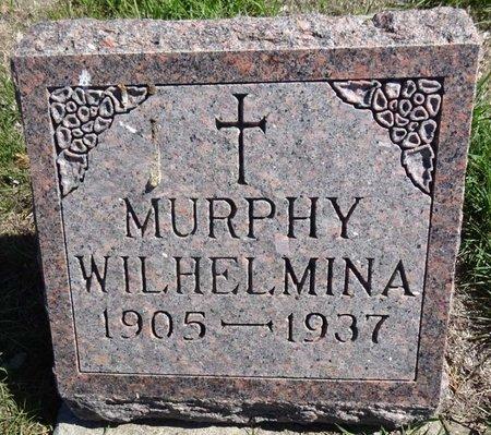 MURPHY, WILHELMINA - Pennington County, South Dakota | WILHELMINA MURPHY - South Dakota Gravestone Photos