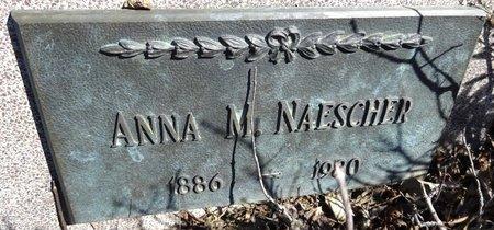 NAESCHER, ANNA - Pennington County, South Dakota | ANNA NAESCHER - South Dakota Gravestone Photos