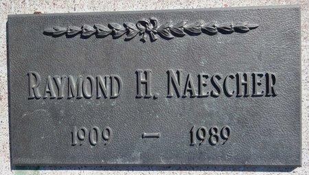 NAESCHER, RAYMOND - Pennington County, South Dakota | RAYMOND NAESCHER - South Dakota Gravestone Photos