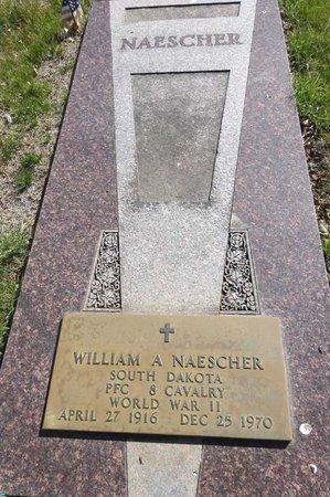 NAESCHER, WILLIAM - Pennington County, South Dakota | WILLIAM NAESCHER - South Dakota Gravestone Photos