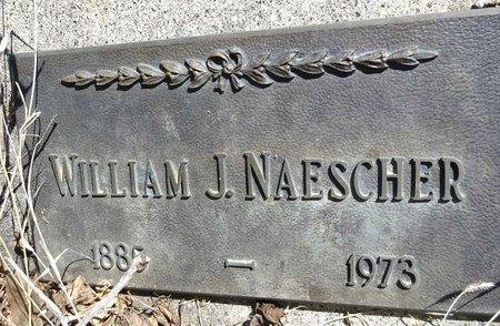 NAESCHER, WILLIAM - Pennington County, South Dakota | WILLIAM NAESCHER - South Dakota Gravestone Photos
