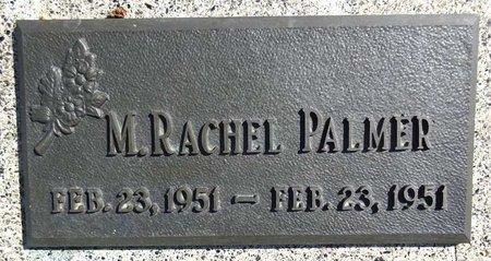 PALMER, M. RACHEL - Pennington County, South Dakota | M. RACHEL PALMER - South Dakota Gravestone Photos